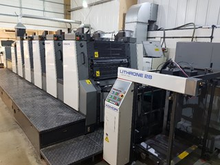 Komori L528+LX Sheet Fed