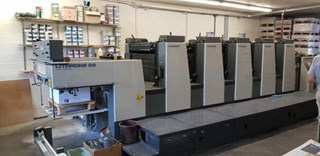 Komori L528 Sheet Fed