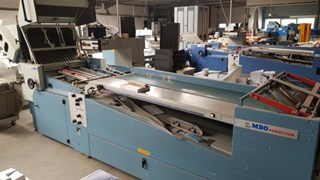 MBO 32 p.p FOLDER T800 Folding machines