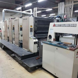MITSUBISHI Diamond 3000LX-4 Sheet Fed