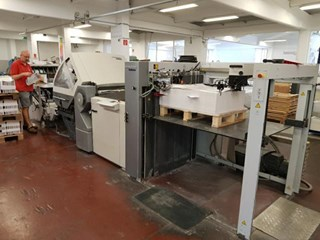 HEIDELBERG Stahl KH-82/6/4+Knife Unit Folding machines