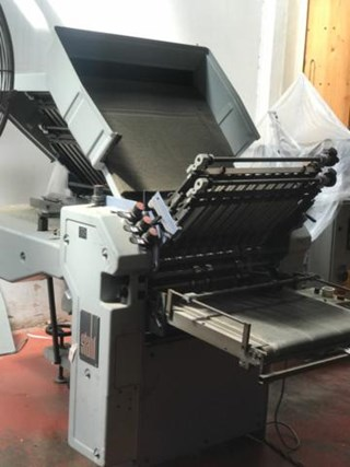 STAHL FOLDER Ti52-3T/4-4-F Folding machines
