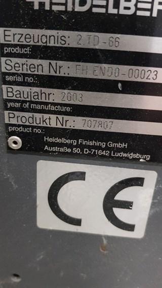 STAHL TD78/4-4-RD-T Folding Machines