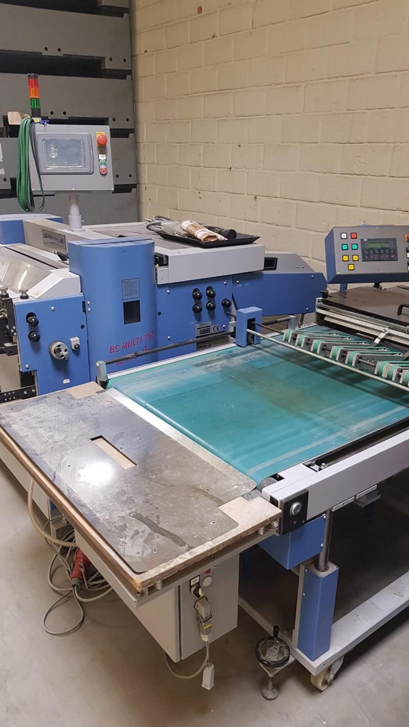 Bogramma Punching machine BS Multi 750 Servo Plus