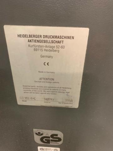 HEIDELBERG CD102-6LX