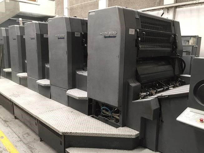 Show details for Heidelberg CD 102-5SE