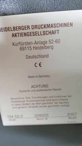 HEIDELBERG SM52-2