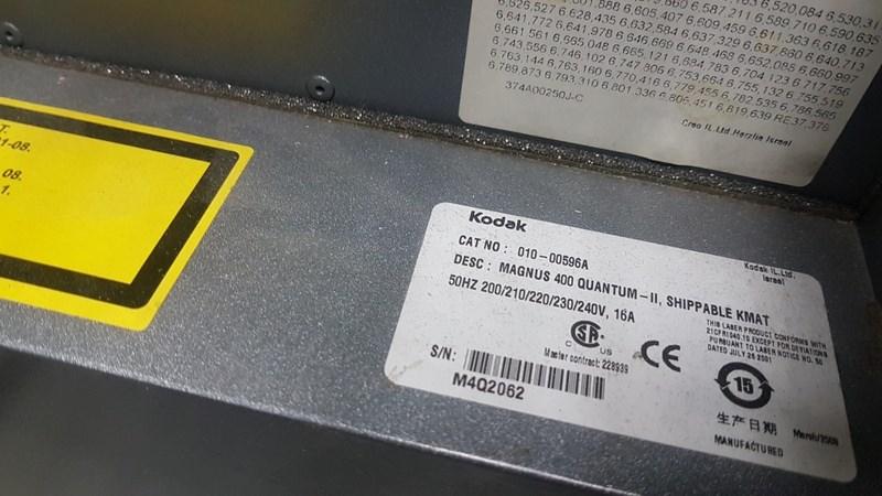KODAK Magnus 400 11 Quantum Platesetter