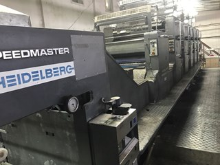 Heidelberg CD 102F+L Sheet Fed