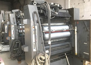 HEIDELBERG WEB 16 for parts Heatset