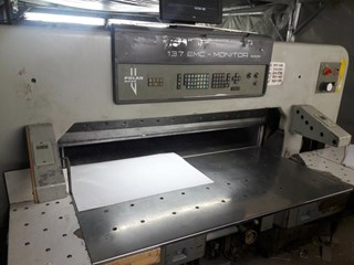 Polar 137 MON Guillotines/Cutters