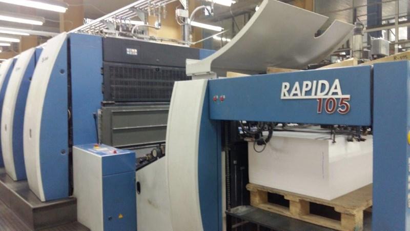 KBA Rapida 105-10 SW5
