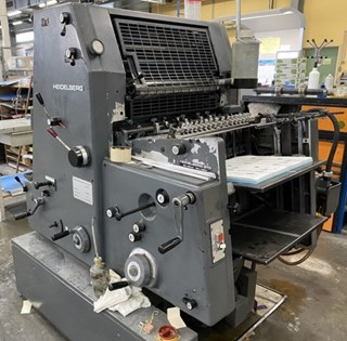 Heidelberg GTO 52+NP Sheet Fed