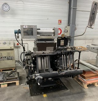 Heidelberg GTPS Tecso hotfoil Finishing