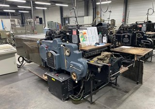 Heidelberg SBG Tecso hotfoil Finishing