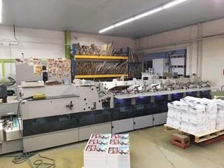 Hohner HSB 8000 Zusammentragmaschine - Sammel hefter