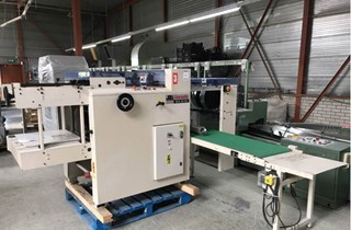 JAMES BURN EX 610 automatic punching machine Wire-O and Spiral Binding