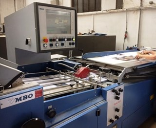 MBO K800.2S-KTL/4 Navigator Folding Machines