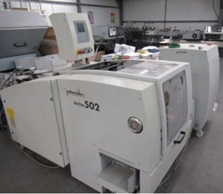 PALAMIDES Delta 502 stacking delivery Folding machines