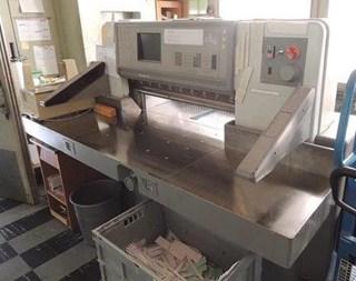 POLAR 92E guillotine 切纸机