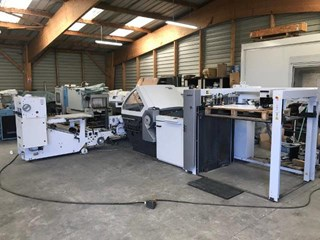Heidelberg/Stahl KH 82/4KL Folding machines