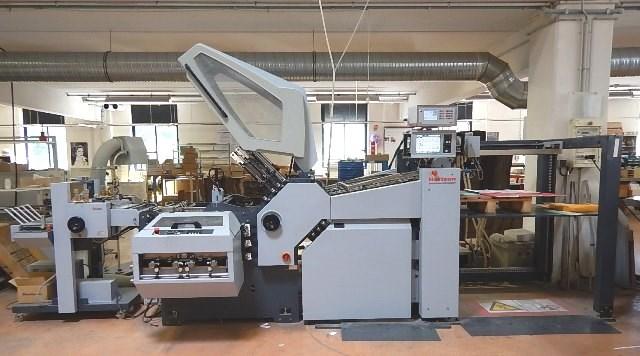 Show details for HORIZON AFC-746 AKT – 16 pages folding machine