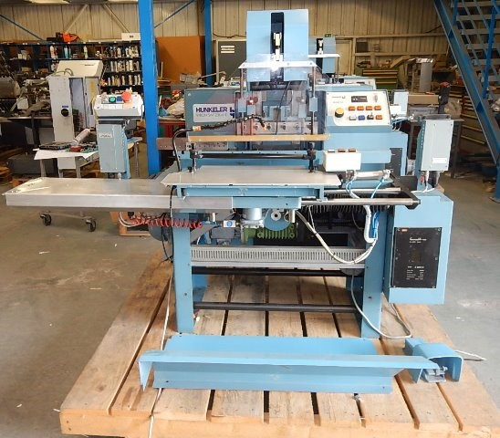 Show details for HUNKELER Remat 320 index cutting machine
