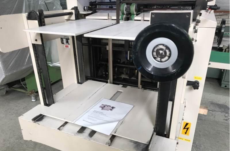 JAMES BURN EX 610 automatic punching machine