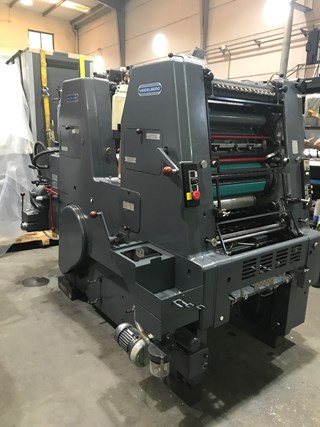 Heidelberg GTO ZP  46 Sheet Fed