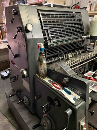 Heidelberg GTO 52 Sheet Fed