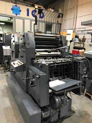 Heidelberg GTO Z 52 Sheet Fed