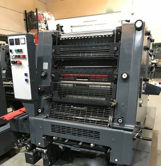 Heidelberg GTO 52 2 P Sheet Fed