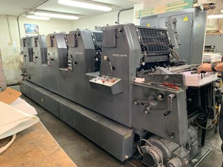 Heidelberg GTO 52 FP Sheet Fed
