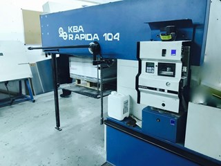KBA Rapida 104 Sheet Fed