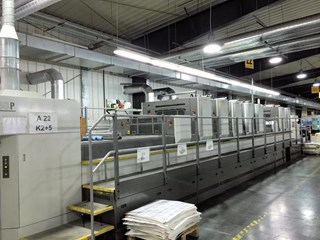 KOMORI LS 740 PLX UV Sheet Fed