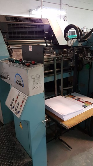 Manroland 202 TOB 单张纸胶印机