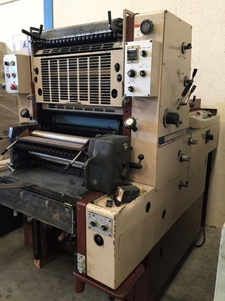SHINOHARA 52 1 单张纸胶印机