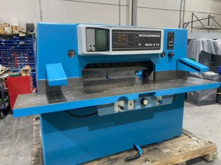 Wohlenberg 92 MCS-2 TV Guillotines/Cutters