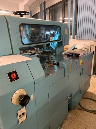 Wohlenberg A 43 DO Three-Knife Trimmers