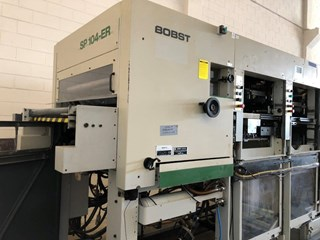 Bobst Autoplatine SP 104 ER    Die Cutters - Automatic and Handfed