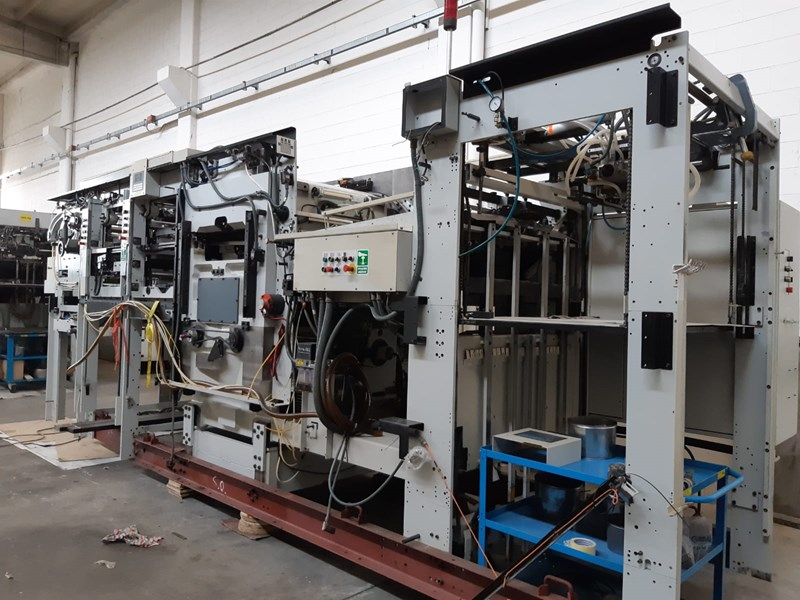 Show details for Bobst SP 104 ER