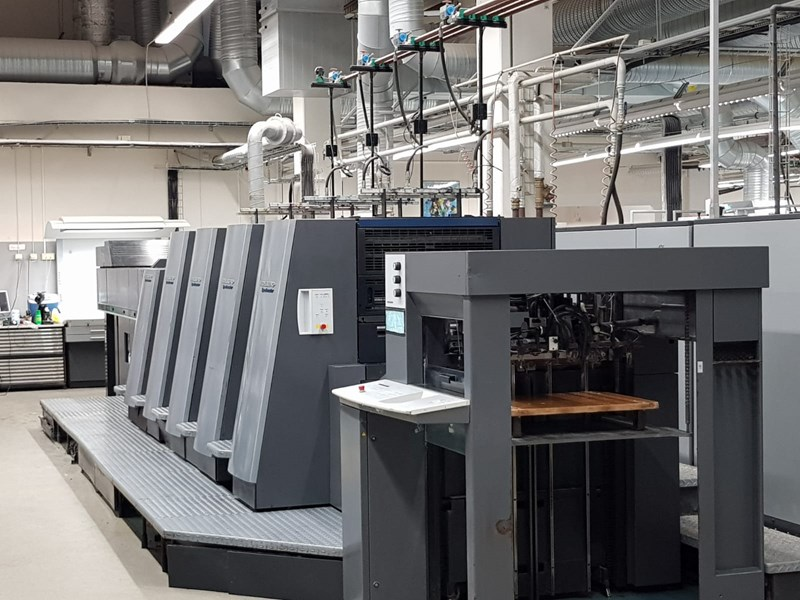 Show details for Heidelberg CD 74-4LX