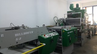 Billhofer EK TL-2 MACHINES A PELLICULER ET CONTRE-COLLER