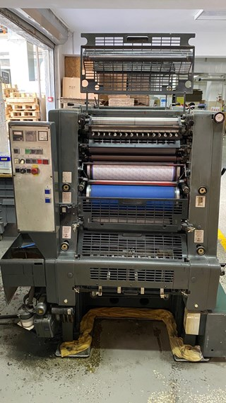 Heidelberg GTO 52-Z  Sheet Fed
