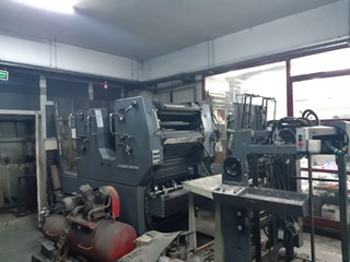 Heidelberg SORM/Z Sheet Fed