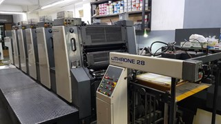 Komori Lithrone L-528 Machines offset à feuilles