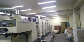 Komori Lithrone L-540 Sheet Fed