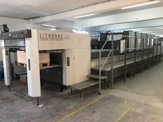Komori Lithrone LS-540+C Sheet Fed