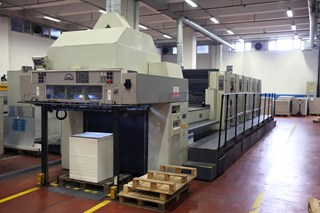 Manroland 705 3B + L (UV) Machines offset à feuilles