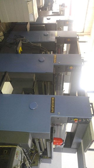 Manugraph Shiva 472 Machines offset à feuilles